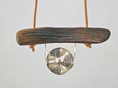 Holzanhänger - Treibholz Kette Treibholzschmuck m. Silberanhänger - ein Designerstück von SchlueterKunstundDesign bei DaWanda