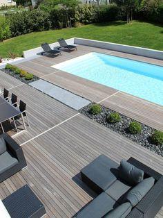 Nada mejor que una piscina rectangular para tu hogar