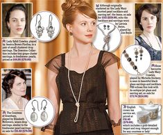 The unofficial collection of the Ladies of Downton Abbey (& how much it will cost to look like them)