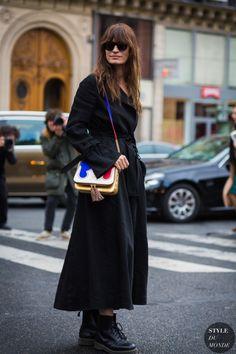 Caroline de Maigret Street Style Street Fashion Streetsnaps by STYLEDUMONDE Street Style Fashion Photography