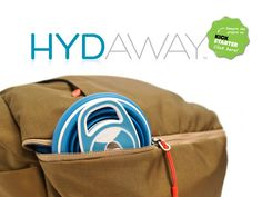 HYDAWAY: A Collapsible Water Bottle Fit for Every Adventure by Niki Singlaub — Kickstarter #backpacking #camping #sports