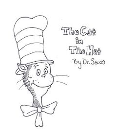 1000 images about Dr Seuss coloring sheets on Pinterest