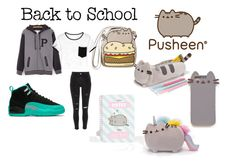 """""""#PVxPusheen"""" by lifeissweet170000 ❤ liked on Polyvore featuring Pusheen, River Island, contestentry and PVxPusheen"""