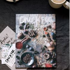 Today's the first morning I've woken up at home after spending the holiday season on the island working my old bakery job. Needles to say I'm grateful to be back. Here's to catching up on reading, sipping on cinnamon reishi mochas, and pouring over this gorgeous copy of @chickpea mag 💆🏽☕️️ #food #foodofinstagram #amazing #L4L #yum