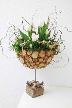 Deco Floral, Arte Floral, Paper Flowers Craft, Flower Crafts, Disney Diy Crafts, Diy And Crafts, Diy Osterschmuck, Modern Flower Arrangements, Christian Crafts
