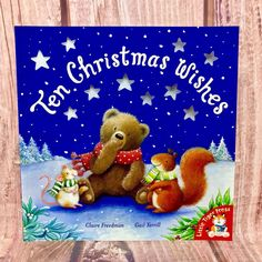 Childrens Christmas Book 10 Christmas Wishes Beautiful story kids stocking santa Childrens Christmas Books, Christmas Items, Christmas Wishes, Kids Stockings, Picture Story, Toddler Books, Beautiful Stories, Stocking Fillers, Stories For Kids