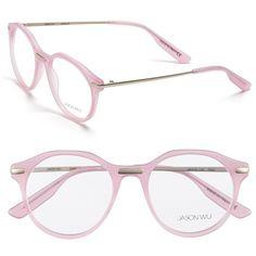 Jason Wu 'Camille' Optical Glasses available at Kids Glasses, Cute Glasses, New Glasses, Pink Glasses Frames, Matsuda Sunglasses, Pink Eyeglasses, Fashion Eye Glasses, Optical Glasses, Jason Wu