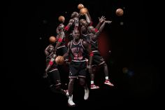 """Image of Michael Jordan 1/6 Scale """"EB 8th Anniversary Edition"""" Figurine Series 2 by ENTERBAY Preview"""