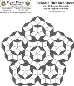 penrose diamond pattern