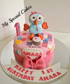 Giggle & Hoot Cake Cartoon Cakes, Birthday Cake, Desserts, Food, Tailgate Desserts, Birthday Cakes, Deserts, Meals, Dessert