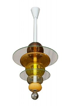 Venini Ceiling Light by Ettore Sottsass.