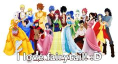Cool, but Lucy and Natsu should be together. I like Lisanna and Loke, but I don't prefer Nali and Lolu.