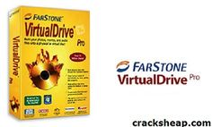 FarStone VirtualDrive Pro 16.10 Full Crack is very useful CD/DVD