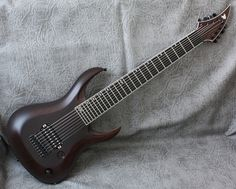 NGD Holy CRAP its here!! RAN Crusher  Macassar Ebony Neck thru - Sevenstring.org