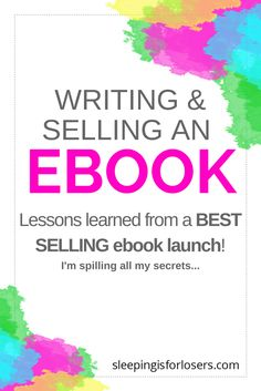 The exact lessons learned from launching my BEST SELLING ebook (all about how to grow a real following on Instagram)! I'm spilling all my secrets so that your ebook is a smashing success! It's easy to do if you know the right steps - click on the post to find out!