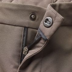 Slider Snap from RiRi of Italy closure on Soft Shell A/M Shorts by Kitsbow $260.