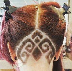 ⚜️ Gothic Patterns ⚜️ Cut By @crazyhairassen #UCFeed #BuzzCutFeed #Undercut #Undercuts #ShavedNape #NapeShave #NapeBuzz #UndercutNation #NapeCut #UndercutDesign #Pigtails #Braids #BraidStyles  #BuzzCut #GirlsWithShavedHeads #BarberArt #BarberShopConnect #BarberLife #HairTattoo #GothicPattern