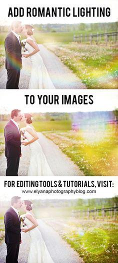 Photoshop Lighting Overlays (Photoshop & Photoshop Elements)