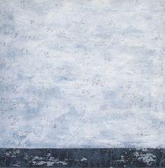Available for sale from Galleria Ca' d'Oro, Alfredo Rapetti Mogol, White, Acrylic on Canvas, 47 1/4 × 47 1/4 in