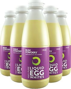 Our Liquid Egg Whites come in a variety of sizes, including and bottles, as well as packs of 6 x The egg whites are pre-separated - meaning no mess, no fuss and time saved! Exceptional value for money, starting from just per egg white Protein Wraps, Egg Protein, Low Carb Protein, Protein Pancakes, Pure Protein, Healthy Macaroni Cheese, Macaroni Cheese Recipes, White Chocolate Raspberry Cake, Ginger Chocolate