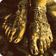 Will definitely be hand to toe Henna covered!