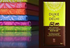 Product Photography for Duke of Delhi's new range of Bombay Mix Chocolate bars.