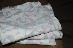 How Sweet this is!: DIY Baby Burp Cloths
