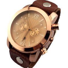 Surfer Tribal Leather Bracelet Watch with Quartz Watch Movement - Unisex
