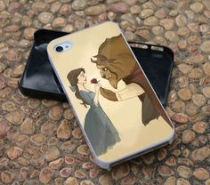 The Beauty And The Beast For iPhone 4 Case, iPhone 4s, iPhone 5, Samsung Galaxy S3 I9300 Case and Samsung Galaxy S4 I9500 Case