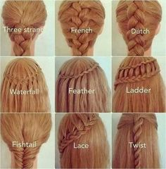25 easy hair styles with braids tutorial