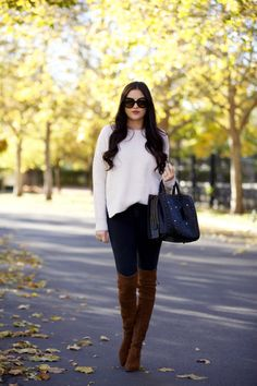 50 Outfits with Boots to Copy for Winter | StyleCaster