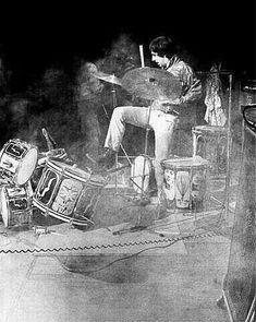 Keith Moon , The Who.