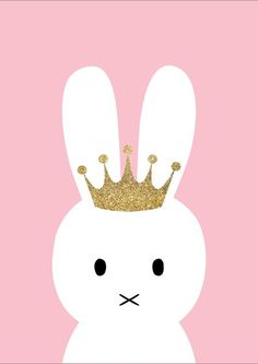 Princess Bunny Print