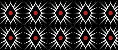 diamond swatches Illustrator black red design
