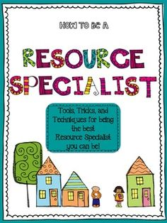 20% off Sale~ All my TPT products! Sunday Nov. 24~  Special Education: How to Be a Resource Specialist