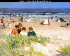 By the Shore - Edward Henry Potthast - www.edwardhenrypotthast.org