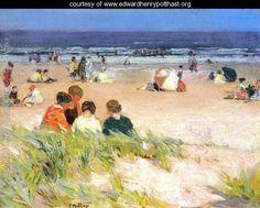 By the Shore - Edward Henry Potthast - www.edwardhenrypotthast.org
