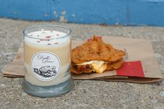 World, We Present The Double Down Fried Chicken... Candle