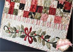 "Holiday Table Runners | Enchanted Holiday Table Runner by Shabby Fabrics-Size-22 1/2"" x 59 1/2 ..."