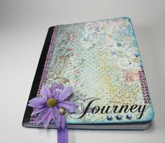 Write, draw, doodle YOUR Everyday Journey.....Altered Composition Book Altered Notebook by BlingNThingsbyPenny