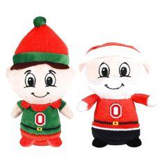 Ohio State Buckeyes 2-Pack Santa & Elf Teamie Beanies - $11.19