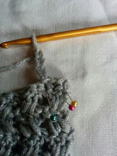スヌードの編み方 Crochet Necklace, Pattern, Crochet Collar, Patterns, Swatch, Texture
