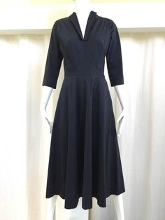 1950s Claire Mccardell classic silk dress