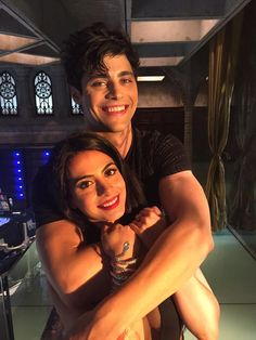 Alec and Isabelle Lightwood // SHADOWHUNTERS tv show.