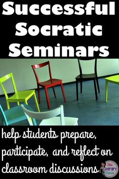Are you thinking about holding a socratic seminar in your classroom? Or maybe your last whole class discussion didn't work out so well? Read on for why fishbowl discussions are the way to go and how to help students prepare for, participate in, and reflect on class discussions.