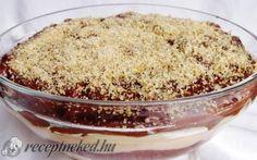 Somlói egyszerűen Hungarian Recipes, Hungarian Food, Cake Cookies, Gluten Free Recipes, Baked Goods, Sweet Recipes, Deserts, Dessert Recipes, Food And Drink