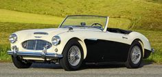 1960 Austin-Healey 3000 MK I BN7 wallpaper