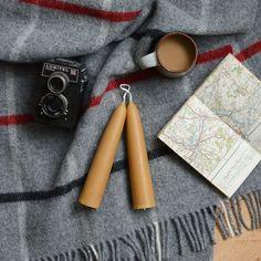 British Pure Wool Blanket Grey Check