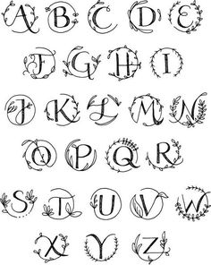 Fonts Alphabet Discover Monogram Custom Engraved Laser Engraved Personalized Board Letter Engraving (cutting board NOT INCLUDED) Caligraphy Alphabet, Hand Lettering Alphabet, Brush Lettering, Alphabet Fonts, Pretty Fonts Alphabet, Cool Letter Fonts, Monogram Alphabet, Letter Art, Cool Writing Fonts