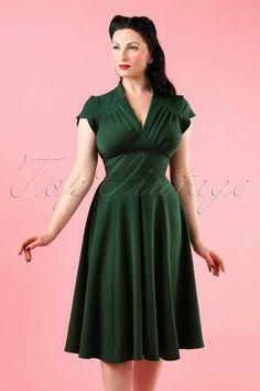 d31341d78aad36 Miss Candyfloss Odette Dress in Grain Green 102 20 17946 20160301.  RugplooiSwing JurkSexy DressesJaren 50 JurkenRetro ...